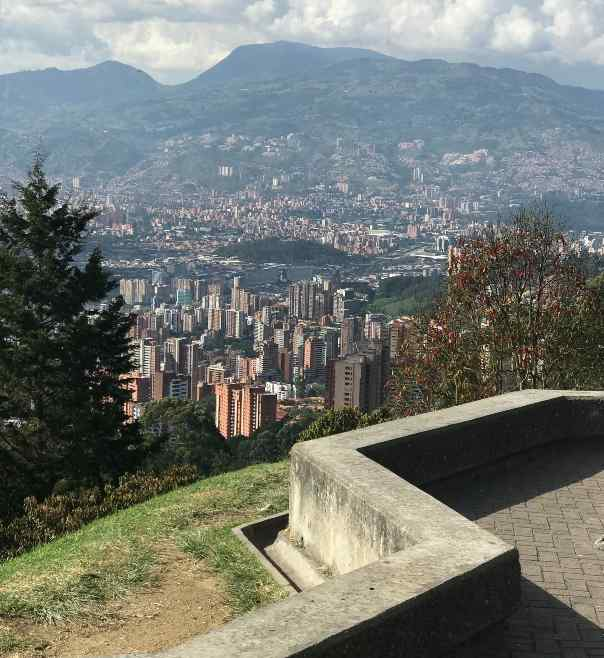 Tours in Medellin - View from the Airport Road