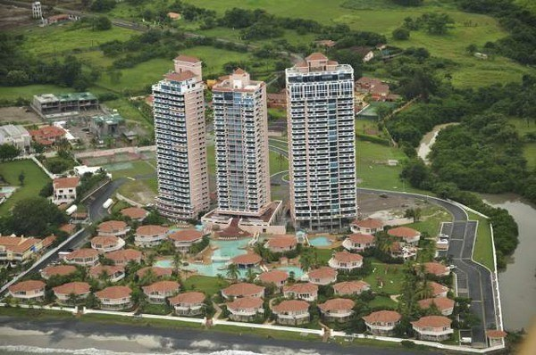 A high-rise condo near Coronado, Panama. Most residents are retirees from North America or Europe.