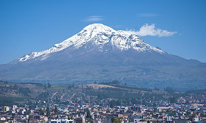 10 Cheapest Countries to Retire-Chimborazo Volcano - The Highest Peak in Ecuador at 20,580 feet