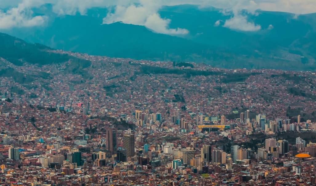La Paz Bolivia is located at 12,000 feet elevation