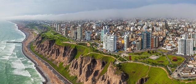 Is Retirement on Social Security Possible - Beautiful Lima Peru Pacific Coastline