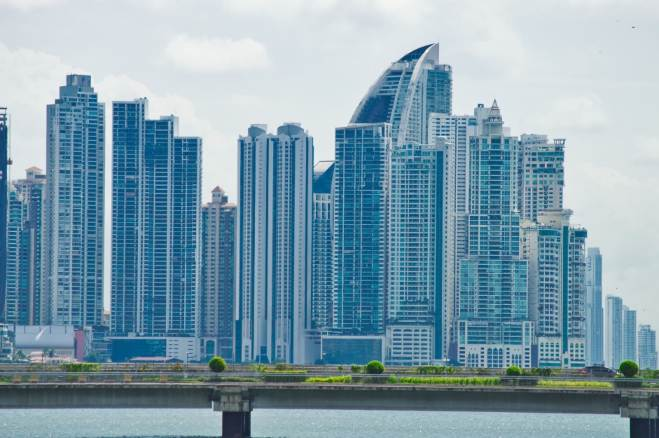Panama City, Panama - A surprisingly beautiful skyline.