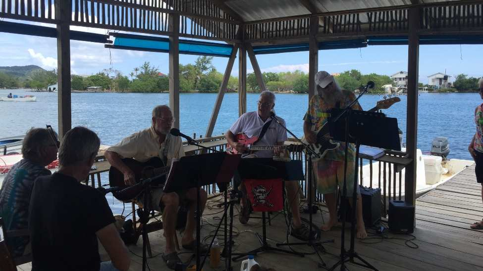 Retire Outside the USA - This Really Good Band of Retired Guys Enjoyed Playing For Fun in a Beautiful Setting