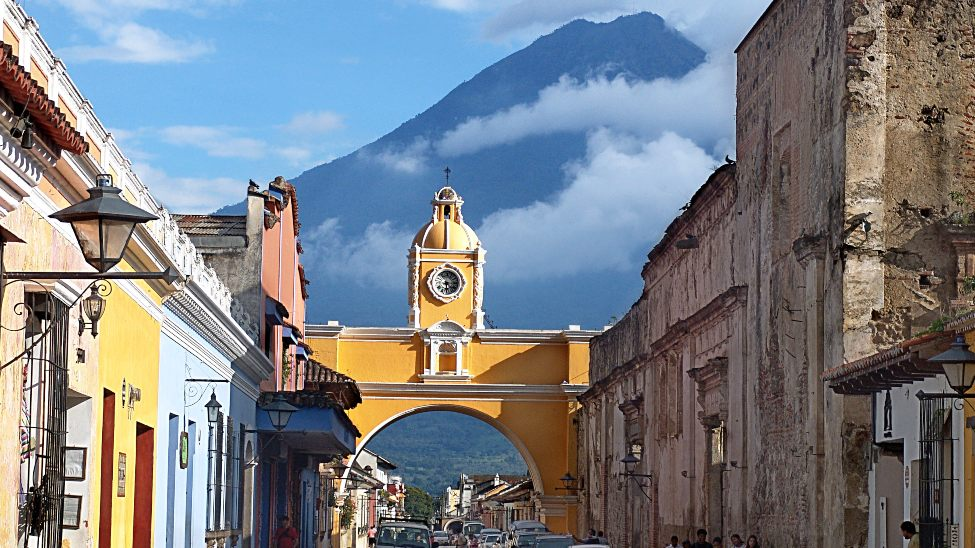 You Can Retire on Social Security - in Antigua, Guatemala