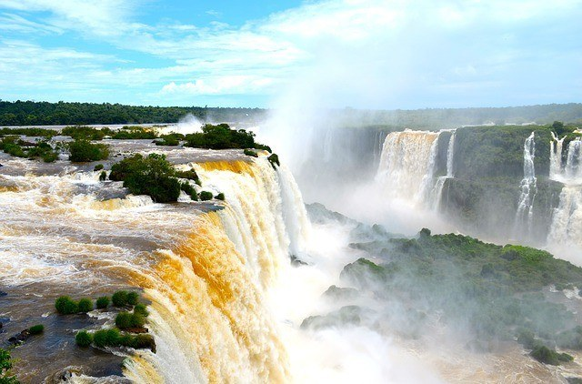 Iguazu Falls, Paraguay. Despite being one of the 10 cheapest countries to retire, it is still very scenic.