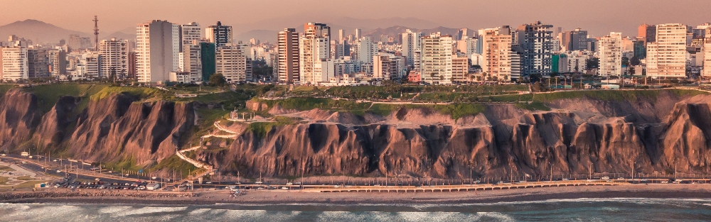 View of Lima from the Pacific