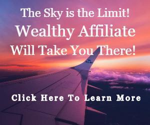 Wealthy Affiliate Banner - The Sky is the Limit