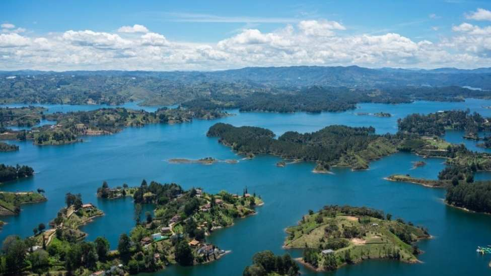 10 Cheapest Countries - Guatape From the Top of El Peñol