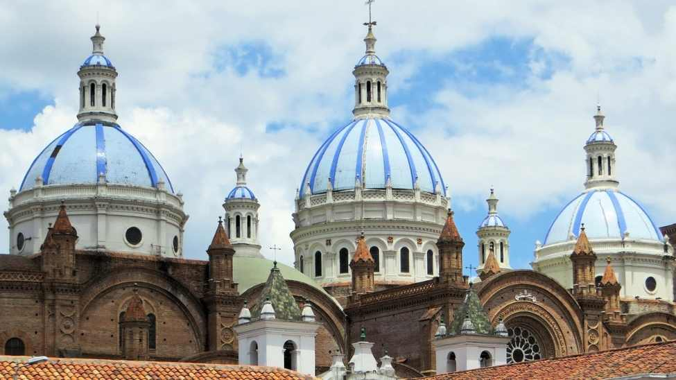 "Cuenca Ecuador Beautiful Domes of the ""New Cathedral"""